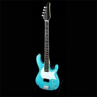 Бас-гитара Modulus Blue | Flea (Red Hot Chili Peppers)
