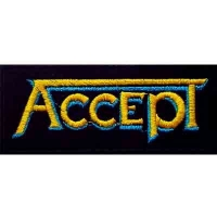 Нашивка Accept - Yellow Logo