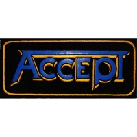 Нашивка Accept - Blue Logo