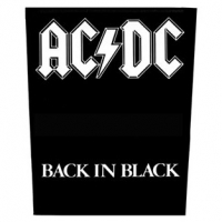 Нашивка на спину AC/DC - Back In Black