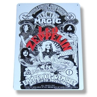 Металлический постер Led Zeppelin - Magic Metal