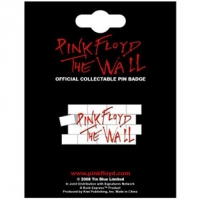 Металлический значок Pink Floyd - The Wall