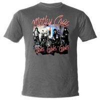 Футболка Motley Crue - Girls Girls Girls Grey