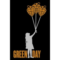 Магнит Green Day - Balloons