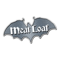 Металлический значок Meatloaf - Bat Out Of Hell