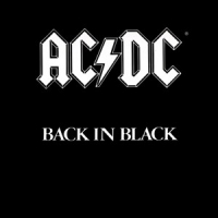 Магнит AC/DC - Back In Black