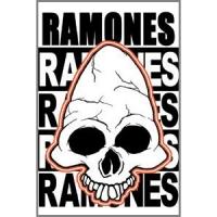 Магнит Ramones - Skull
