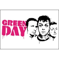 Магнит Green Day - Faces