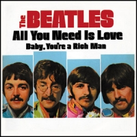 Магнит Beatles - All You Need Is Love