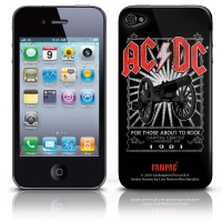 Задняя панель AC/DC - For Those About To Rock [iPhone 4G\4GS]