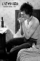 Рулонный плакат Sex Pistols - Sid Vicious [61х92 см.]