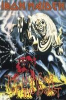 Рулонный плакат Iron Maiden - Number Of The Beast [61х92 см.]