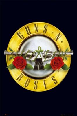 Рулонный плакат Guns'N'Roses - Button [61х92 см.] ― iMerch