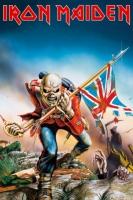 Рулонный плакат Iron Maiden - Trooper [61х92 см.]