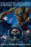 Рулонный плакат Iron Maiden - The Final Frontier [61х92 см.]