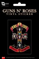 Наклейка Guns'N'Roses - Appetite For Destruction