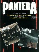 Сонг-бук Pantera - Selections From Vulgar Display Of Power And Cowboys From Hell